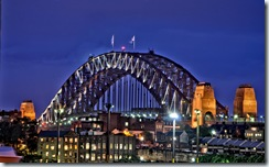 HDR_Sydney Harbour Bridge